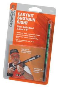 Champion EasyHit Fiber Optic Shotgun Sights Green 2.5mm - 5 Inches - 076683458407