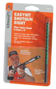 Champion EasyHit Fiber Optic Shotgun Sights Green 3.0mm - 5 Inches - 076683458445