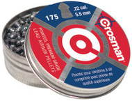 Crosman Pointed Pellets .22 Caliber 175 Count Per Package - 028478002210