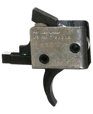 CMC Triggers AR-15/AR-10 Single Stage Traditional Curved Trigger Small Pin 3.5 Pound - 850544004008