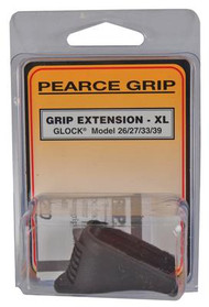 Pearce Grip Extension Glock Models 26/27/33/39 Adds 1 Inch - 605849200330