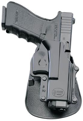 Fobus Paddle Holster For Springfield XD/XDM/HS 2000 9mm/ 357/ 40 4 and 5  Inch/Sig 2022/H&K P2000 Black Right Hand