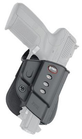 Fobus Evolution 2 Series Paddle Holster For FNH 5-Seven Black Right Hand - 676315006800
