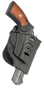 Fobus Evolution 2 Series Paddle Holster For Ruger GP100 Black Right Hand - 676315006787