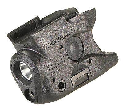 Streamlight TLR-6 Gun Mounted Tactial LED Light and Red Aiming Laser M&P 40/9 - 080926692732