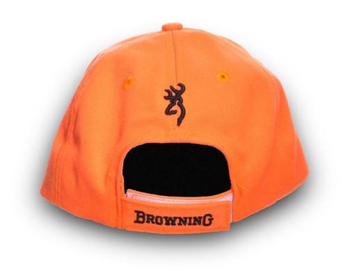 Browning Logo Safety Cap Blaze Orange