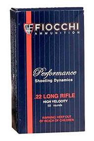 Fiocchi 22 LR - 38 Grain CPHP - 50 Rounds - 762344710037