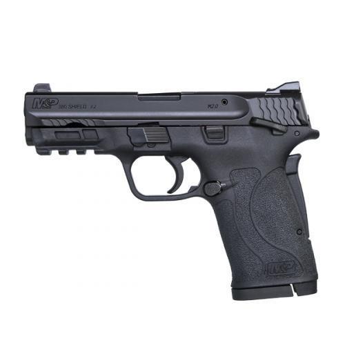 Smith & Wesson M&P 380 Shield EZ 380 ACP - Thumb Safety - Black - 8 Round - 022188869743