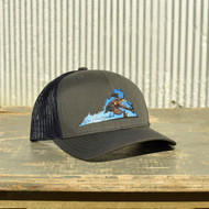 East Coast Waterfowl VA Black Duck State Patch Hat - 400001737491