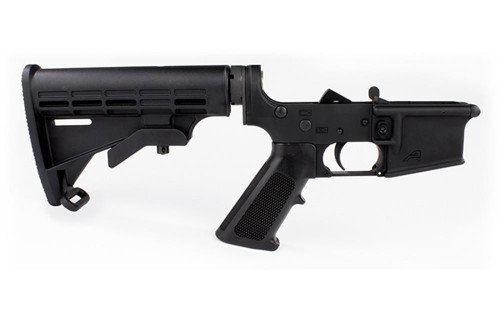 Aero Precision AR-15 Lower Receiver - Standard - Black - 815421020793