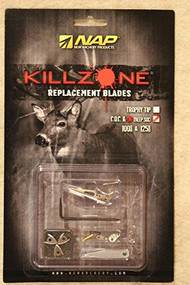 New Archery Product Killzone COC & D6 Replacement Blades - 033576605997