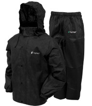 Frogg Toggs All-Sport Rain Suit - Black - 647484047161