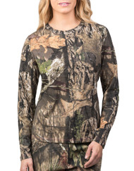 Walls Women's L/S Camo T-Shirt - Mossy Oak Break-Up Country - 889440034765