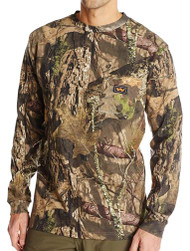 Walls Youth L/S Camo T-Shirt - Mossy Oak Break-Up Country - 889440036219