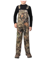 "Walls Youth ""Grow With Me"" Non-Insulated Bibs - Mossy Oak Break-Up Country - 889440036462"