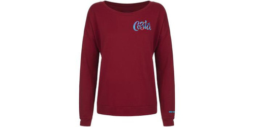 Costa Santina French Terry Scoop L/S Shirt - 097963787178