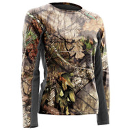 Nomad Women's Long Sleeve Cooling Tee - Mossy Oak Break Up Country - 190840012155