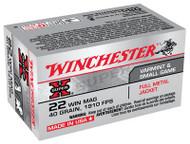 Winchester Super-X 22 WMR - 40 Grain FMJ - 50 Rounds - 020892100732
