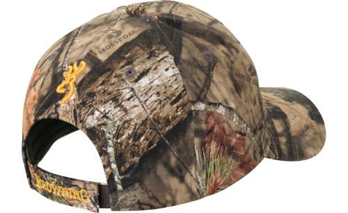 e95f6ac5239a9 ... Browning Rimfire Hat w  Mossy Oak Break-Up Camo   Yellow Logo -  023614419167
