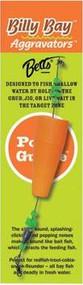 Betts Billy Bay Aggravator Popper - Orange - 042621188255