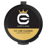 Cortland Fly Line Cleaner Lubricated Pads - 043372342033