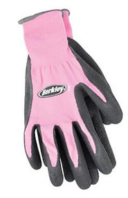 Berkley Coated Fish Pink Gloves - 028632548875