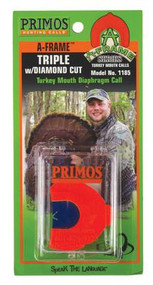 Primos A-Frame Series Double Turkey With Diamond Cut - 010135011857