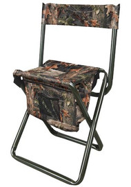 Allen Folding Stool with Back Camo - 026509058106