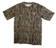 Browning Wasatch-CB Mossy Oak Bottomland S/S T-Shirt - 023614935254