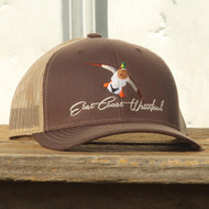 ECW East Coast Waterfowl Brown/Khaki Mallard Snapback - 400100000407