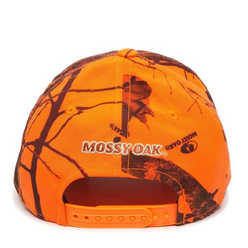 29b619cba6a0e Outdoor Cap Mossy Oak Break-Up Blaze Logo Hat - Dance s Sporting Goods