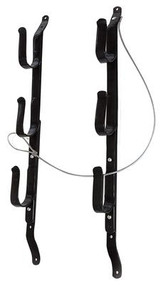 Allen Three Gun Locking Gun Rack Black Includes Cable But No Lock - 026509185208
