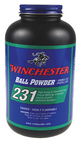 Winchester Ball Powder 231 - 1 lb - 1 Canister - 039288023111