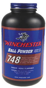 Winchester Ball Powder 748 - 1 lb - 1 Canister - 039288074816