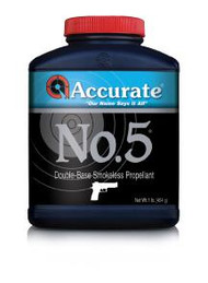 Accurate WPI No. 5  Powder - 1 lb - 1 Canister - 094794001268