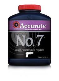 Accurate WPI No. 7  Powder - 1 lb - 094794001510