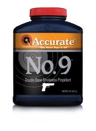Accurate WPI No. 9  Powder - 1 lb - 1 Canister - 094794001763