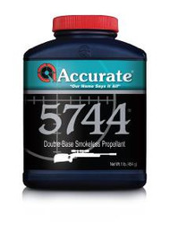 Accurate 5744 Powder - 1 lb - 1 Canister - 094794002012