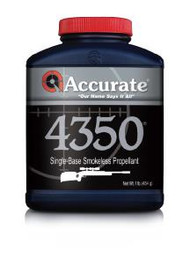 Accurate 4350 Powder - 1 lb - 1 Canister - 094794004016