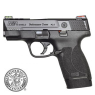 Smith & Wesson M&P 45 Shield M2.0 Performance Center Ported - HiViz Sights - Black - 8 Round - 022188877700