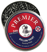Crosman LHP22 Premier Pellets Hollow Point .22 Stainless - 028478133082