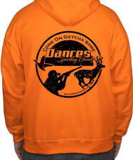 Dance's Sporting Goods Logo Hoodie - Blaze Orange - 400100000848