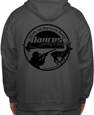 Dance's Sporting Goods Logo Hoodie - Charcoal - 400100000854