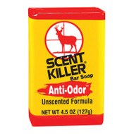 Wildlife Research Center Scent Killer Unscented Bar Soap - 4.5OZ - 024641005415