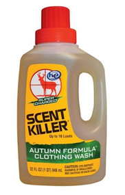 Wildlife Research Center Scent Killer Autumn Formula Clothing Wash - 32OZ - 024641585337