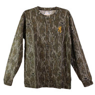 Browning Wasatch Mossy Oak Bottomland L/S T-Shirt - 023614935360