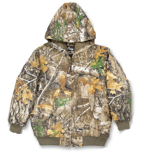 Berne Insulated Toddler Camo Spike Jacket - 092021392097