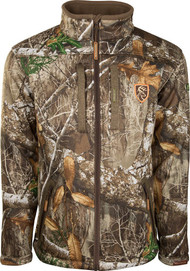 Drake Waterfowl Silencer Full-Zip Jacket Full Camo w/ Agion Active XL™ - 659601519802
