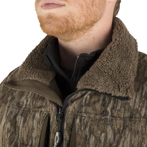 Drake Waterfowl MST Guardian Flex Sherpa Fleece Eqwader 14 Zip Jacket