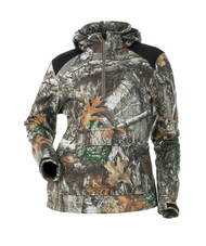 DSG Outerwear Breanna Fleece Camo Pullover - 603784515236